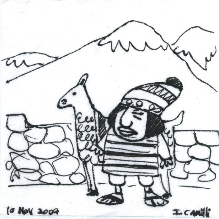 Atahualpa y la Alpaca
