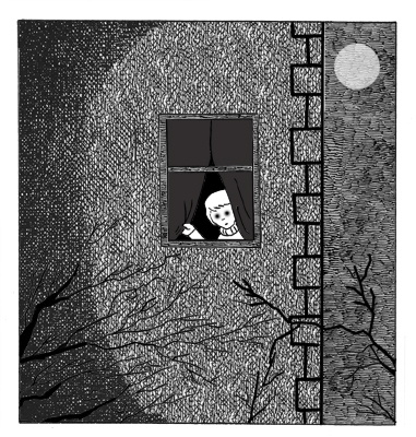Ivan Camilli illustration for the book A Creepy Collection of Terrible Tales.